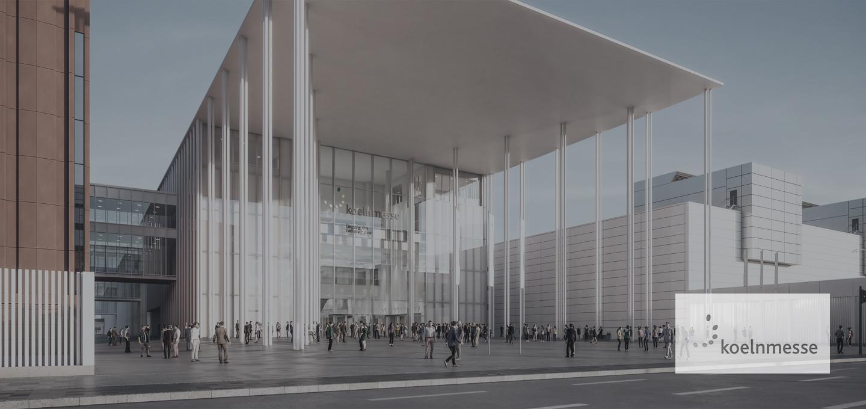 Visualisierung des Projekts Kölnmesse 3.0