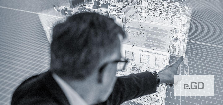 Digitalisierungsberatung, Fabrikplanung mit BIM